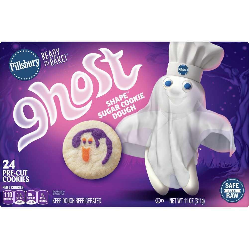 City Market Pillsbury Ready To Bake Ghost Shape Sugar Cookies 11 Oz