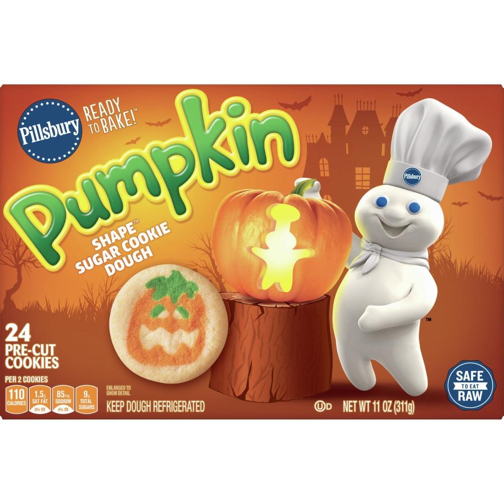 Bake! Pumpkin Shape Sugar Cookies