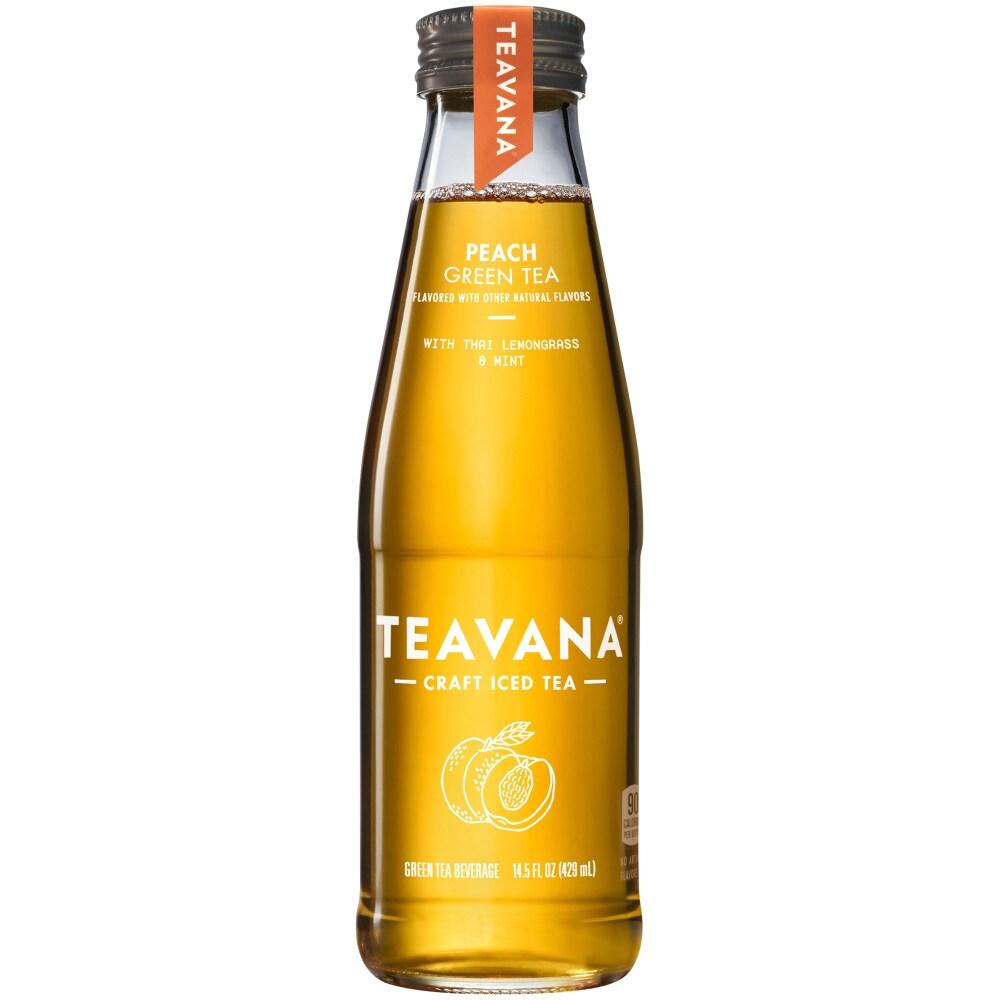 Teavana Peach Green Iced Tea, 14.5 fl oz