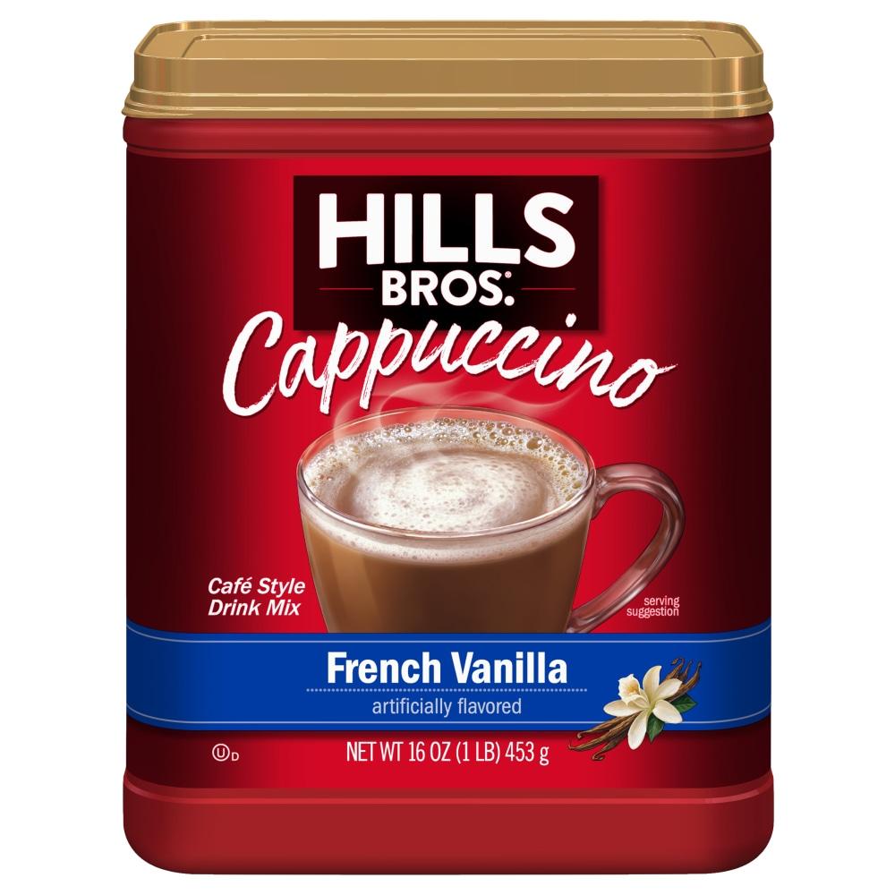 Ralphs Hills Bros French Vanilla Cappuccino Drink Mix 16 Oz