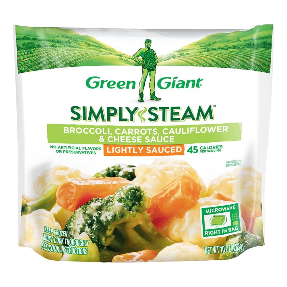 Green Giant Steamers Broccoli Carrots Cauliflower Cheese Sauce Frozen Vegetables 12 Oz Ralphs