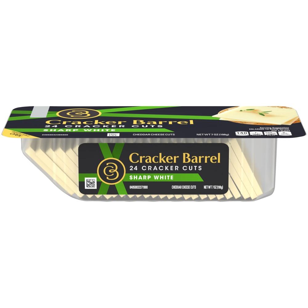 Kroger - Cracker Barrel Sharp White Cheddar Cheese Cracker