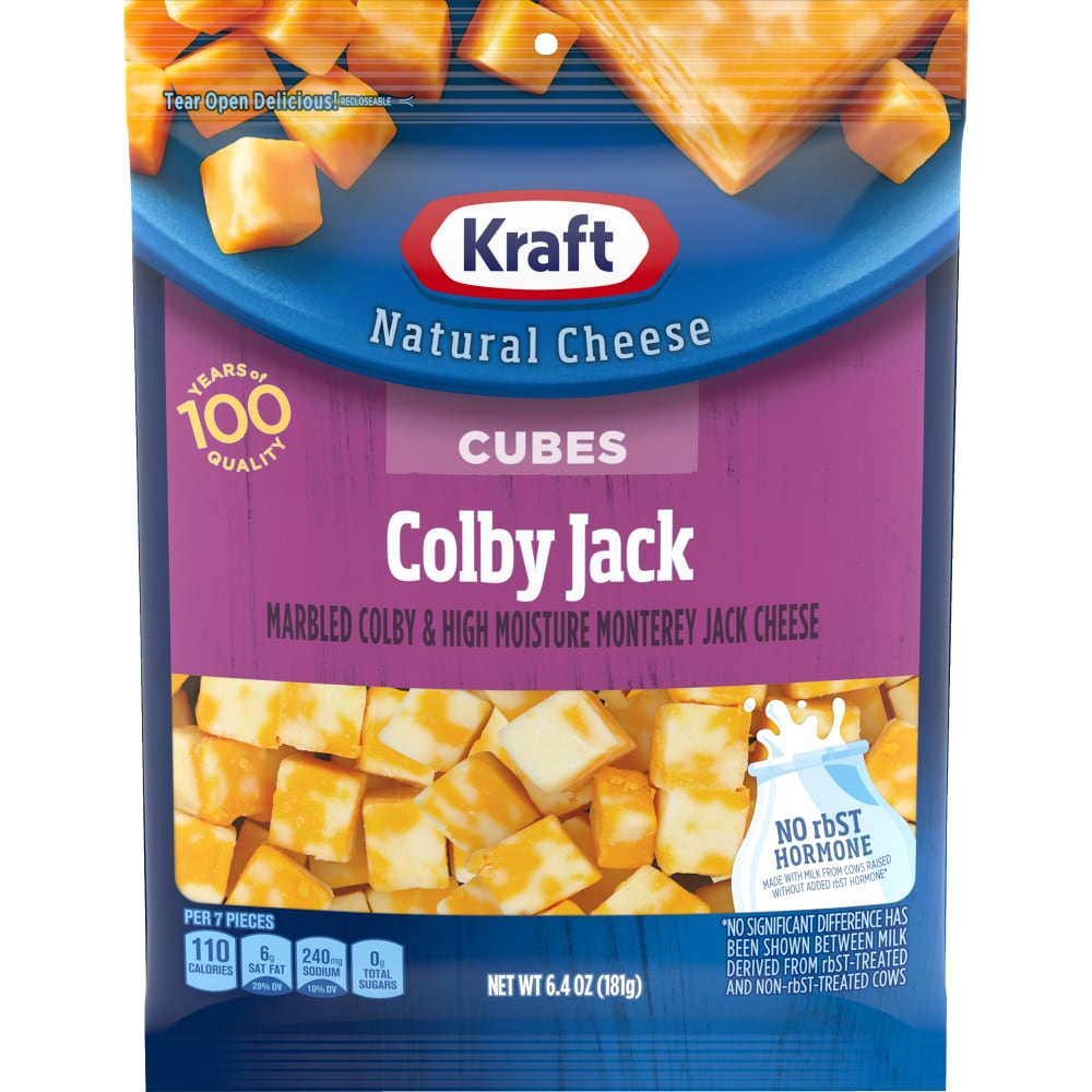 Pick 'n Save - Kraft Natural Cheese Colby Jack Cheese Cubes