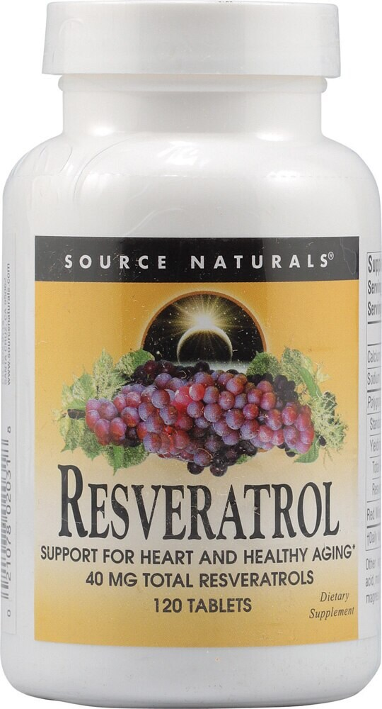 Qfc Source Naturals Resveratrol With Red Wine Extract Tablets