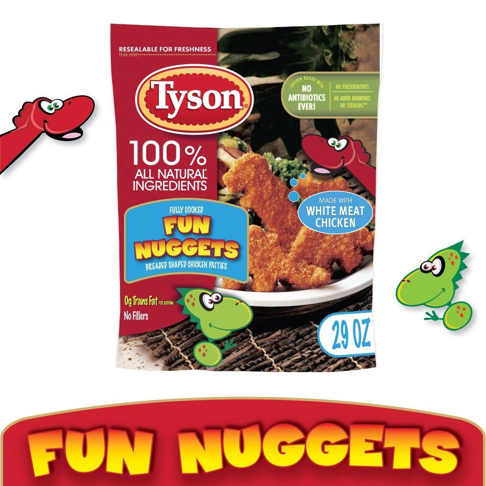 Kroger - Tyson Fully Cooked Fun Nuggets