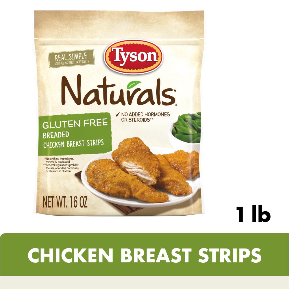 Tyson Naturals Gluten Free Breaded
