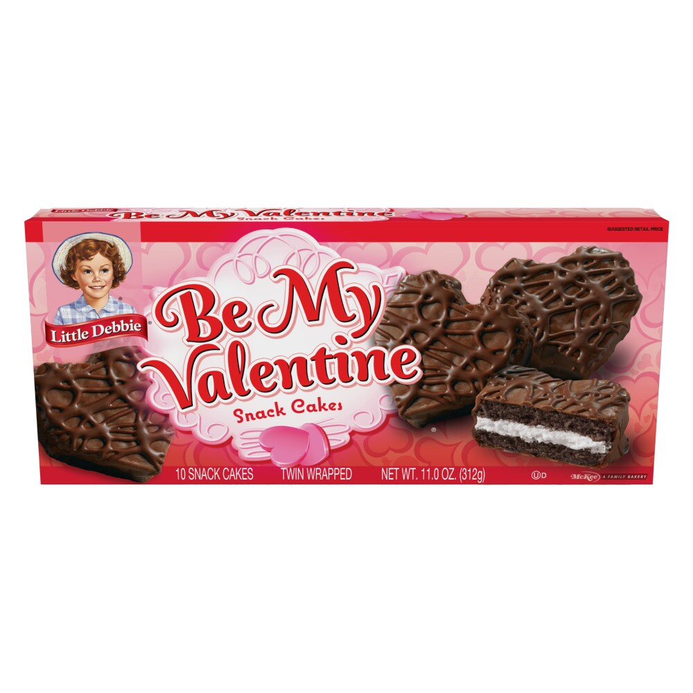 Ralphs Little Debbie Be My Valentine Snack Cakes