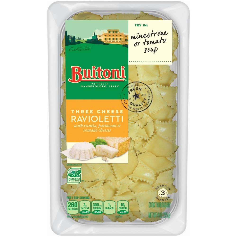 Food 4 Less Buitoni Three Cheese Ravioli