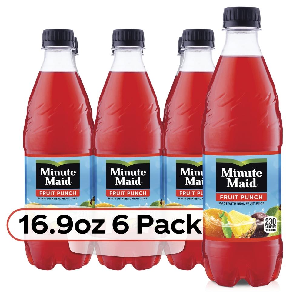 Kroger - Minute Maid Fruit Punch, 6