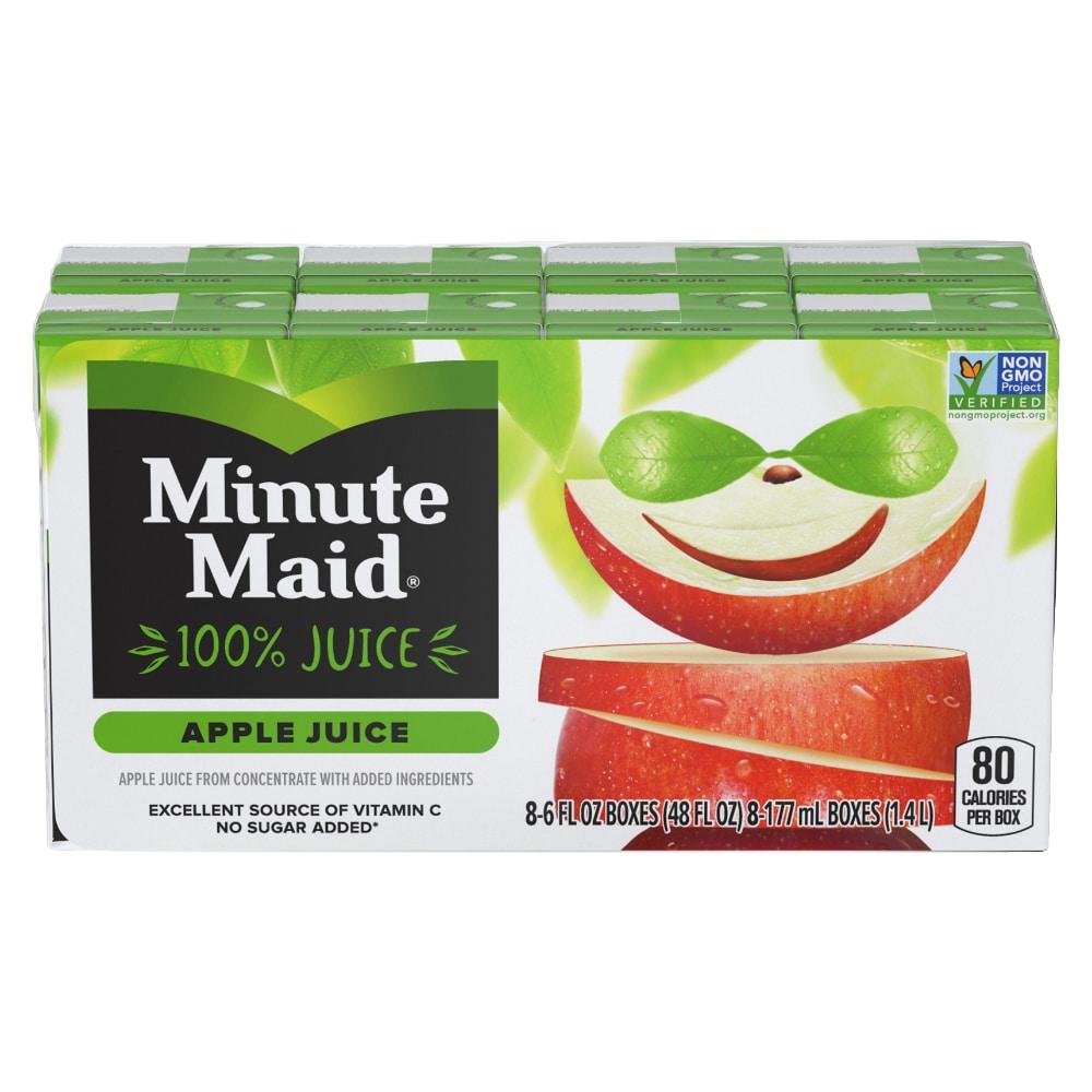 QFC - Minute Maid Apple Juice, 8 ct / 6