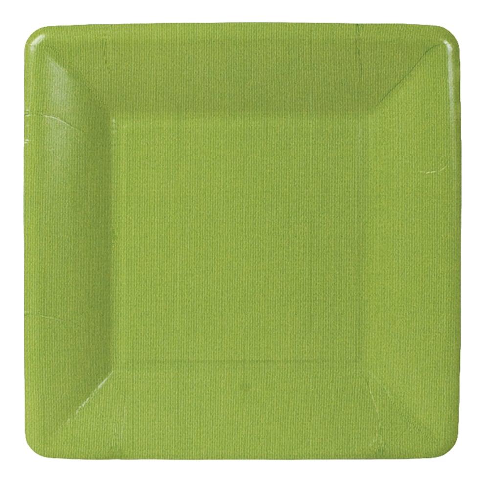 Entertaining with Caspari Square Peep Salad//Dessert Plates Yellow 8-Pack