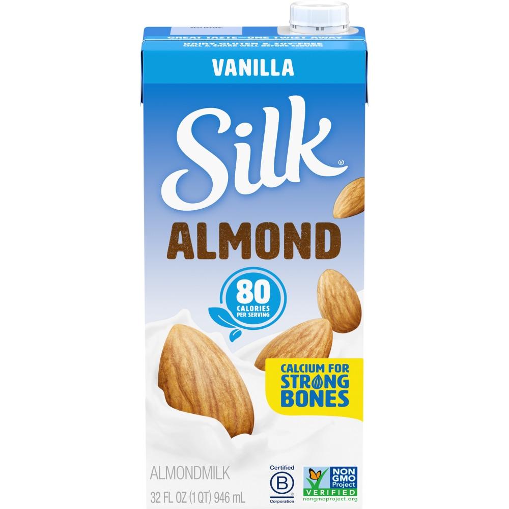 Mariano's - Silk Vanilla Almond Milk, 1 qt