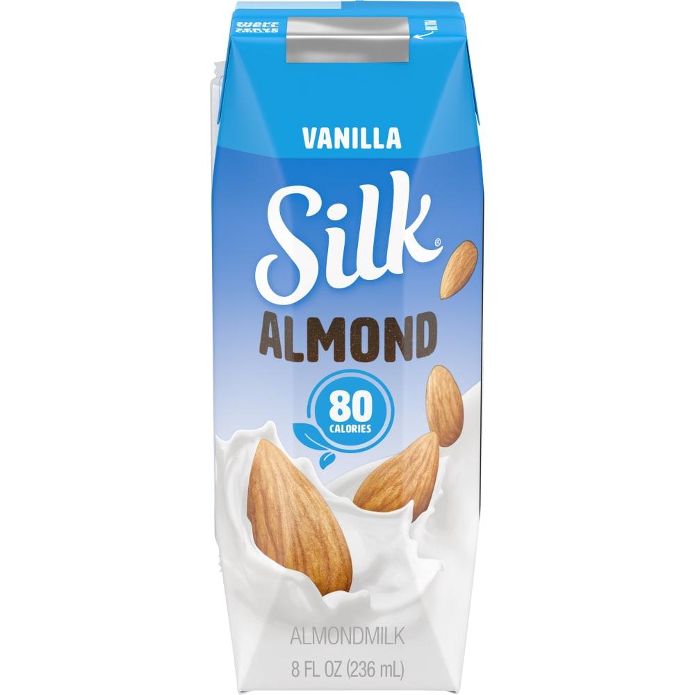 Kroger - Silk Vanilla Almond Milk, 8 fl oz