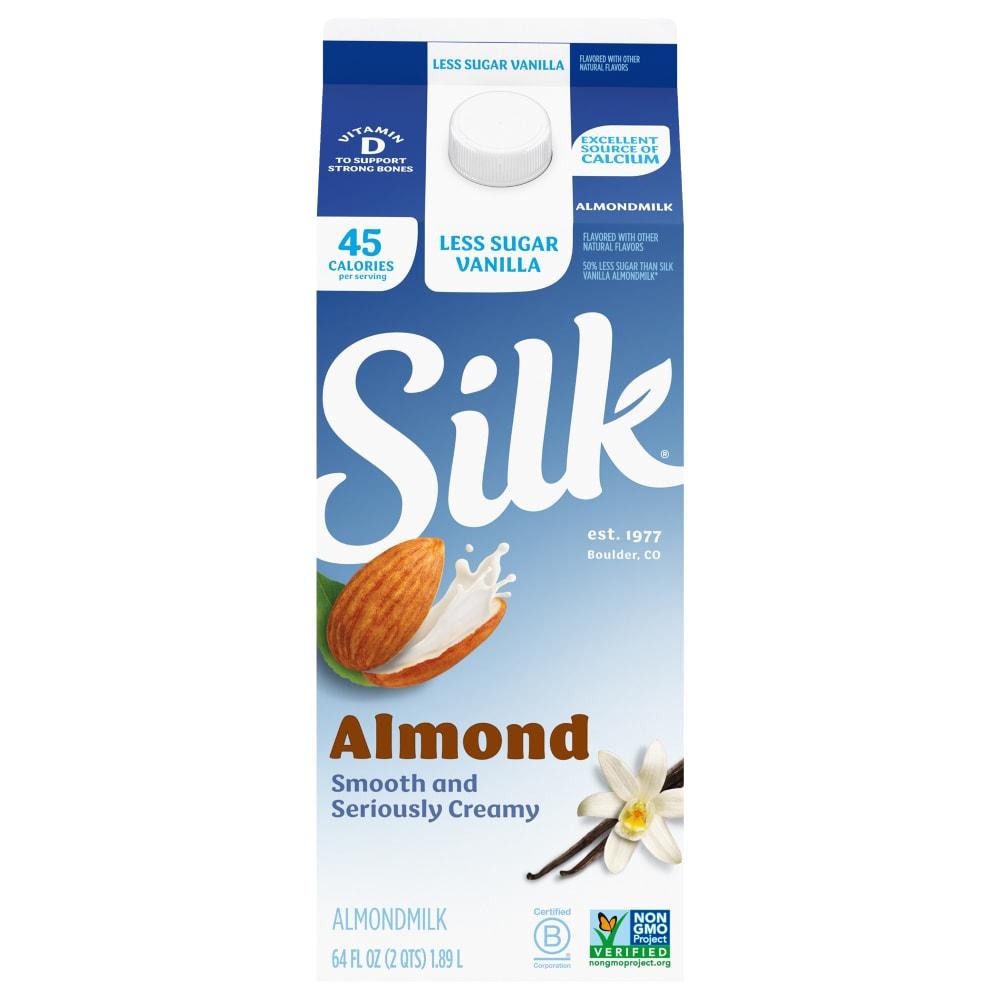Silk Light Vanilla Almond Milk