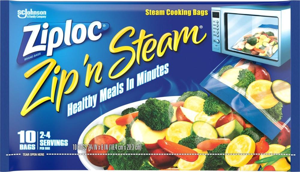 Fred Meyer Ziploc Zip N Steam Microwave Medium Cooking
