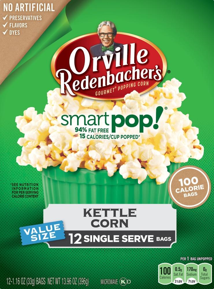 Smart Pop! Kettle Popcorn Mini Bags
