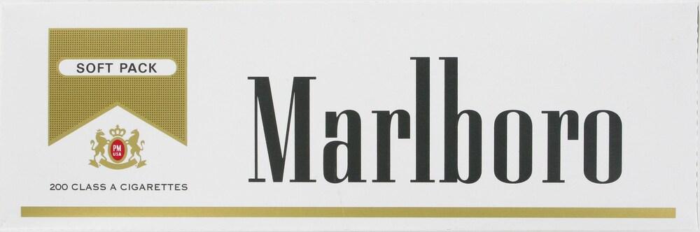 Ralphs - Marlboro Gold Soft Packs, 1 Carton