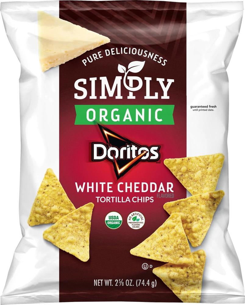 Organic Doritos White Cheddar Tortilla
