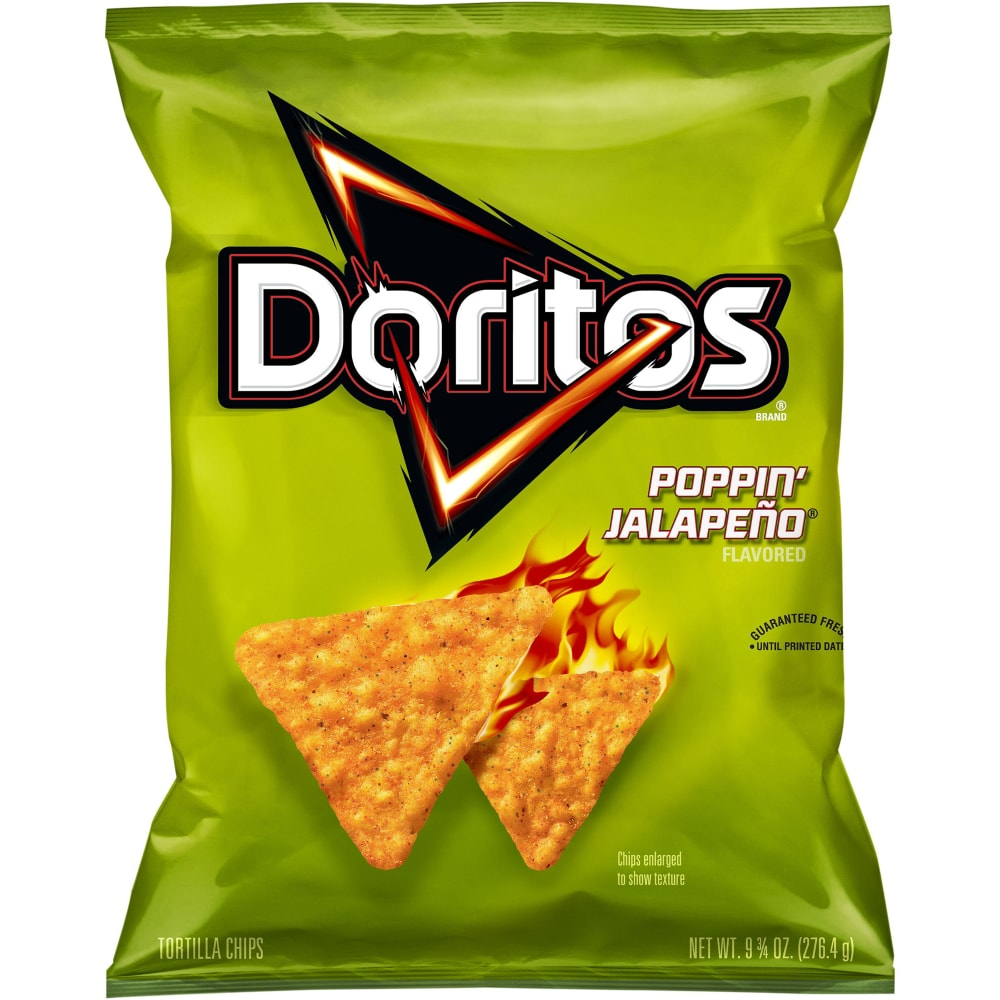 Doritos Poppin Jalapeno Flavored