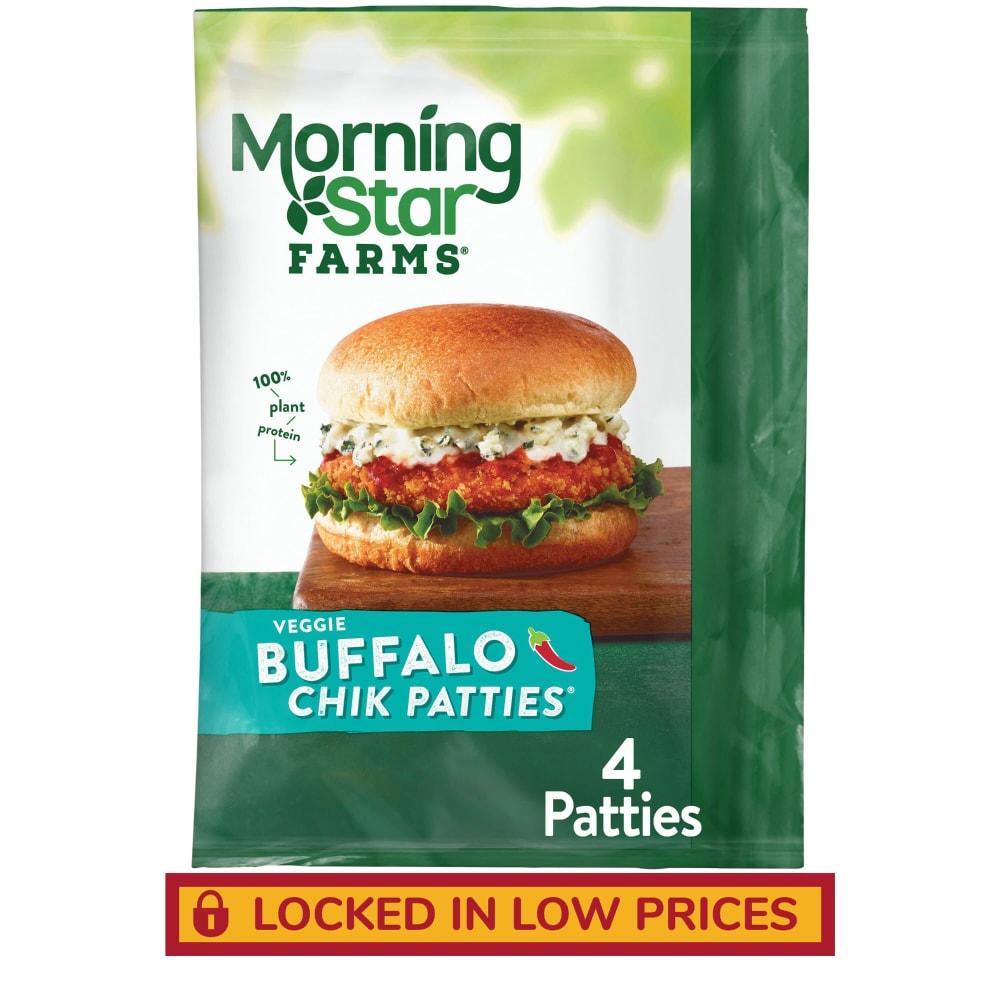 MorningStar Buffalo Chik Veggie Patties