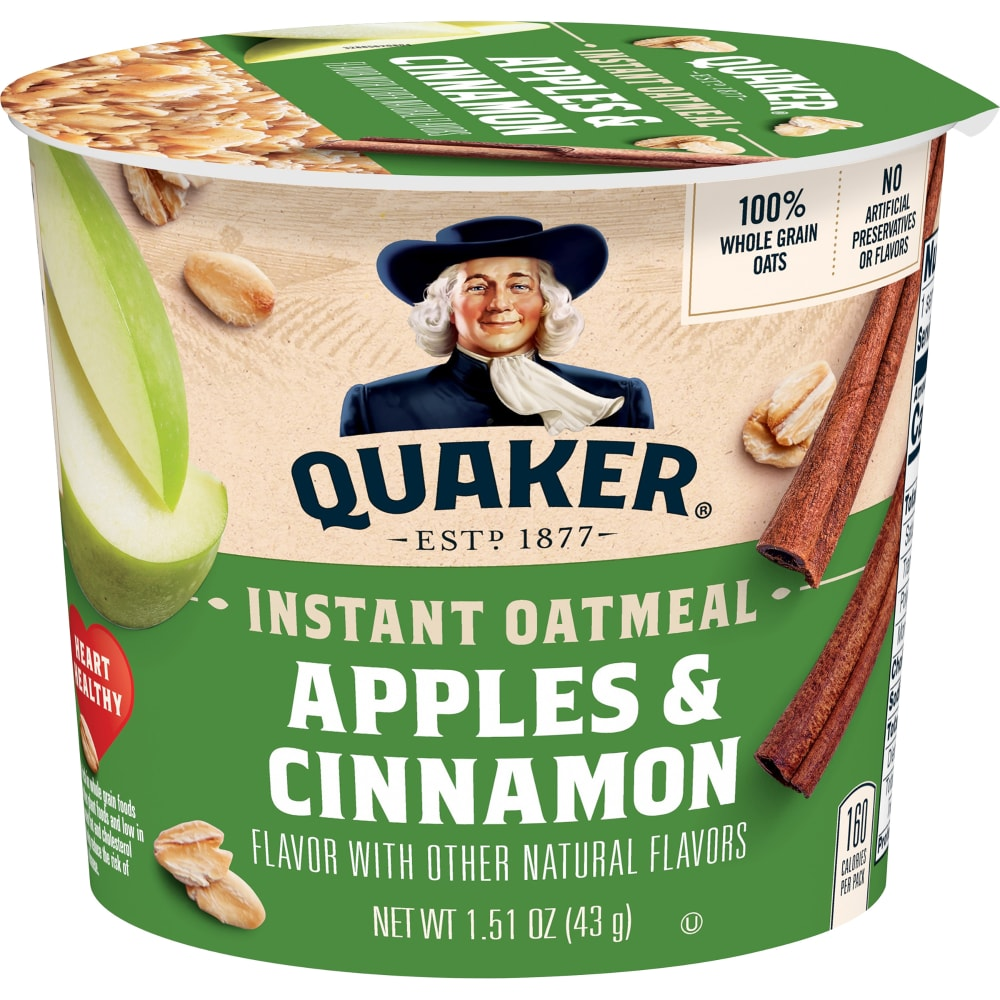 Apples & Cinnamon Instant Oatmeal Cup