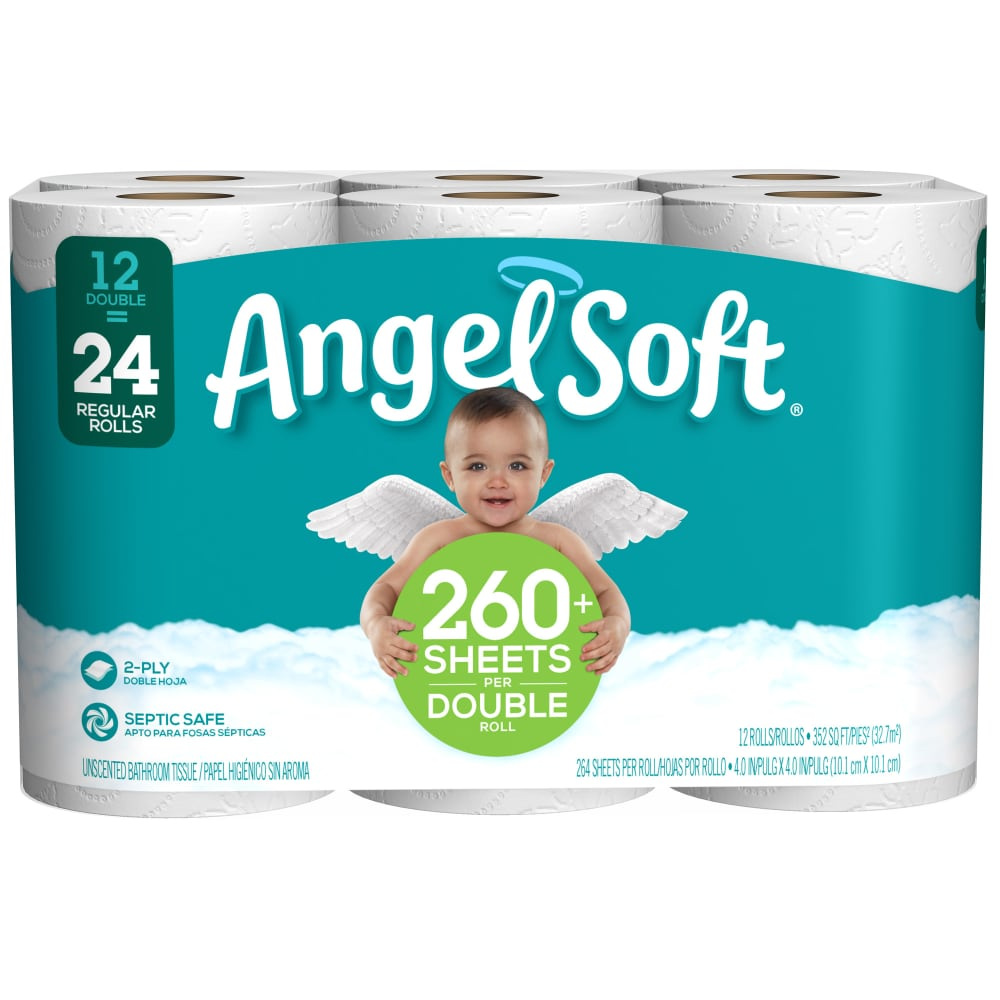 24 x QUALITY SOFT BATHROOM TOILET TISSUE PAPER ROLLS