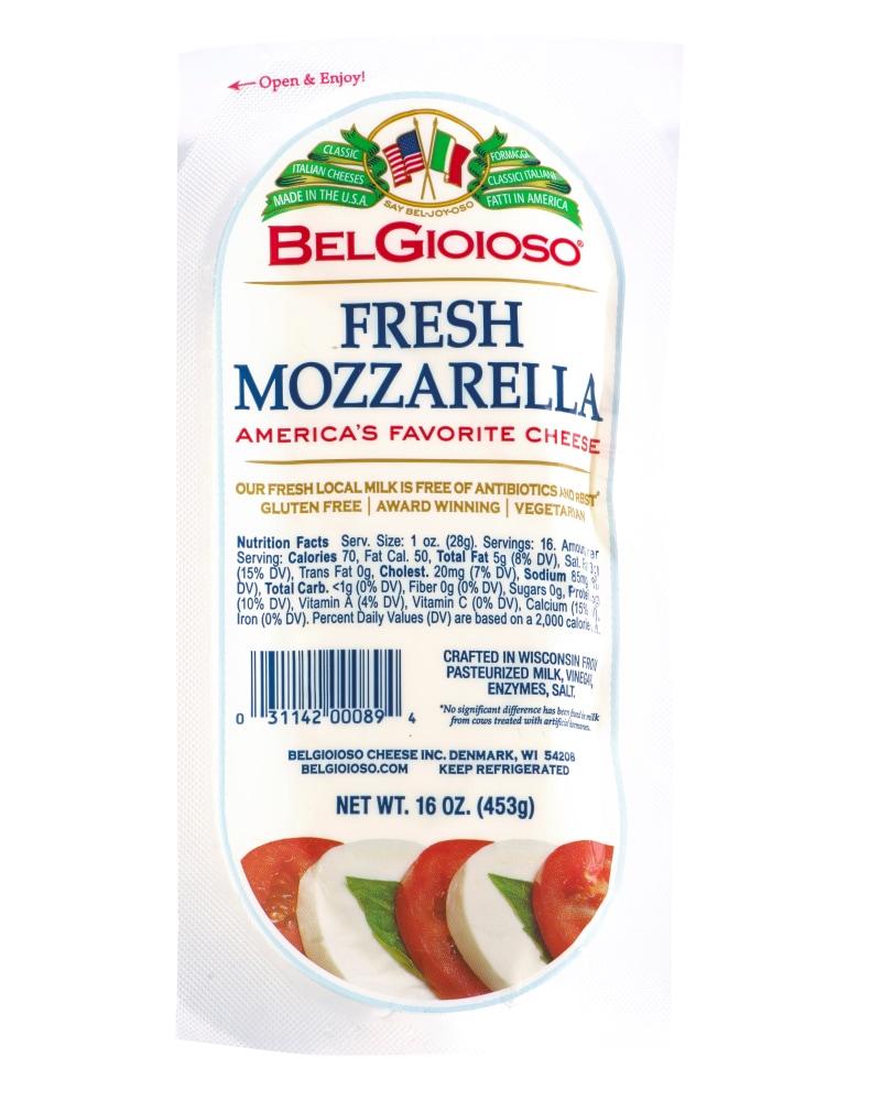 Qfc Belgioioso Fresh Mozzarella Cheese 16 Oz