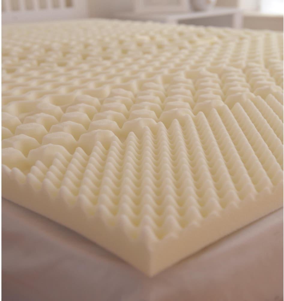 Kroger Carpenter Home Isotonic 7 Zone Memory Foam Mattress Topper