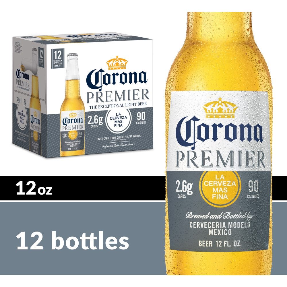 Ralphs Corona Premier Mexican Lager Beer 12 Bottles 12 Fl Oz