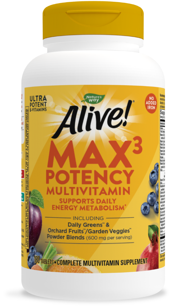 Kroger Nature S Way Alive Iron Free Multivitamin Max Potency Tablets 180 Ct