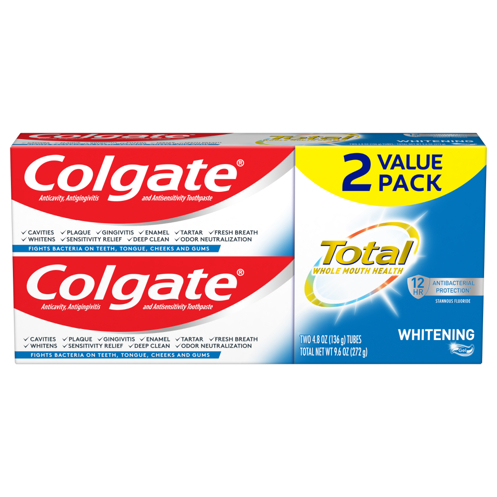 Mariano S Colgate Total Whitening Toothpaste Value Pack 2 Ct