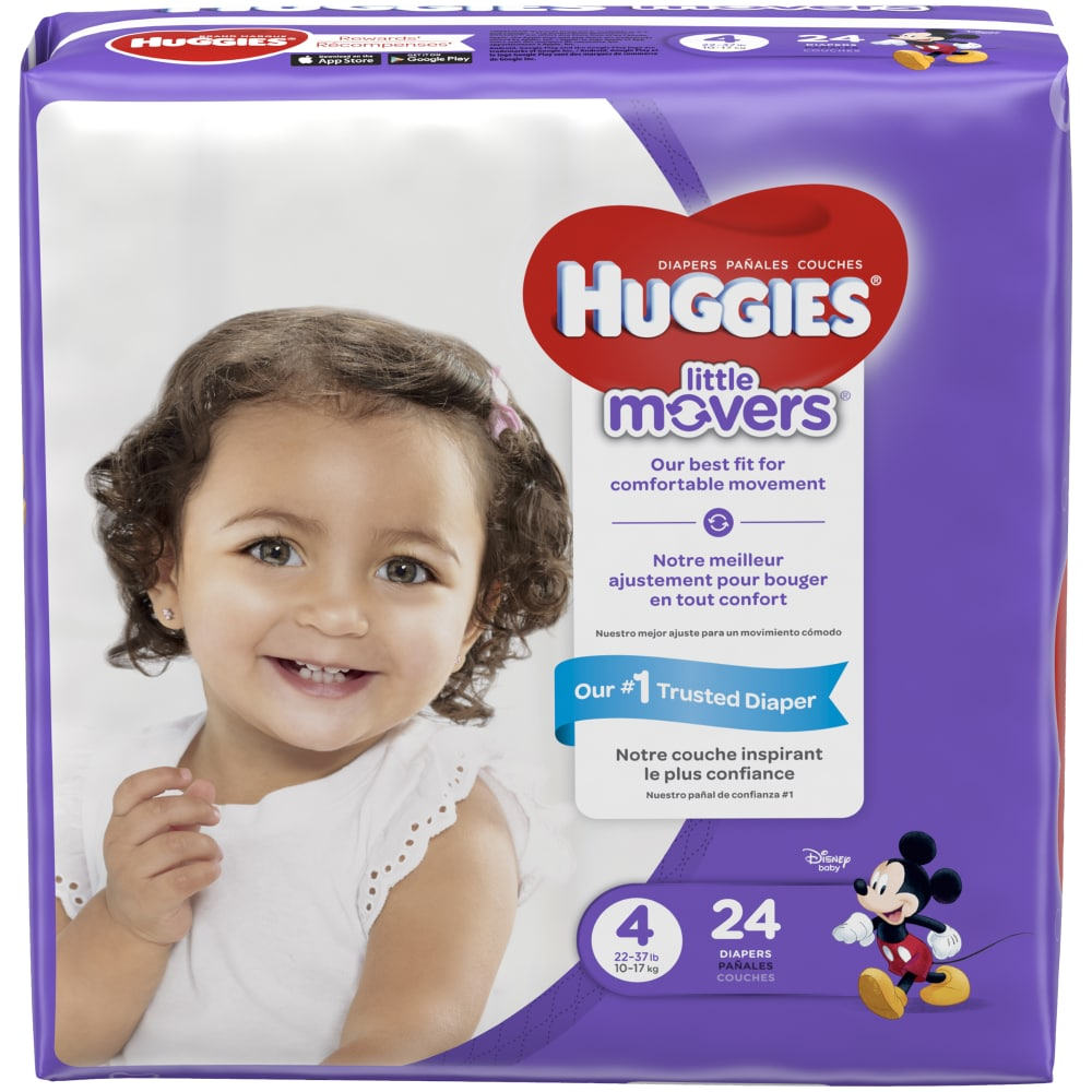 Luvs Ultra Leakguards 29 Diapers Size 4 Jumbo Diapers Pack 22-37 Ib