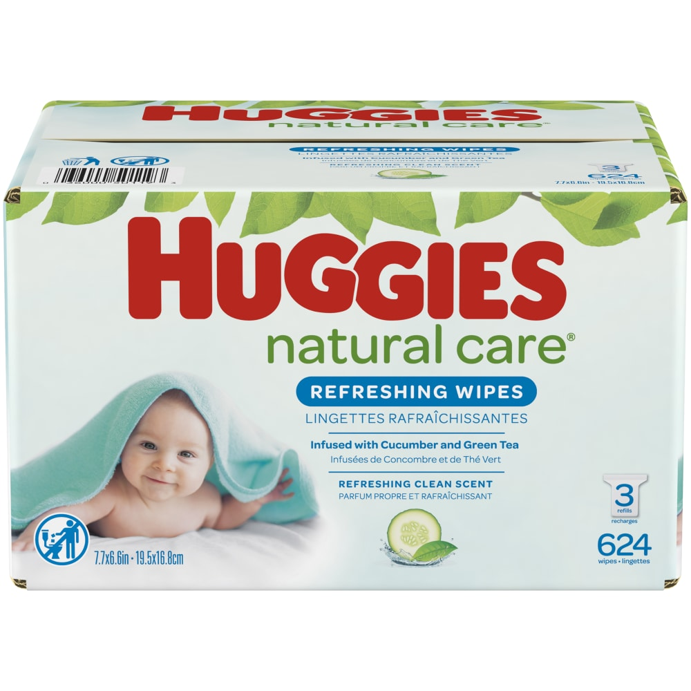 Huggies Pure/Baby Wipes Pack of 72