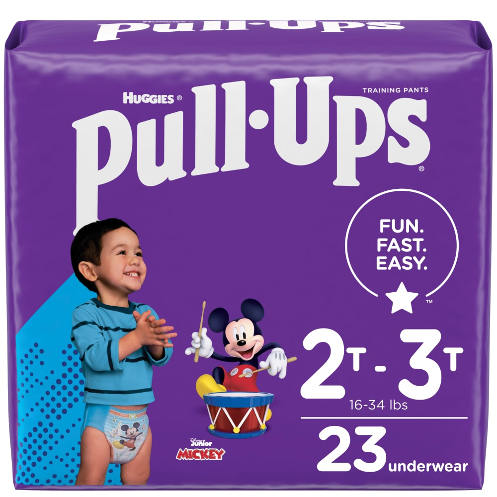 Huggies Pull-Ups Night Time Potty Training Pants for Boys Size 4 Small 8-15kg 14