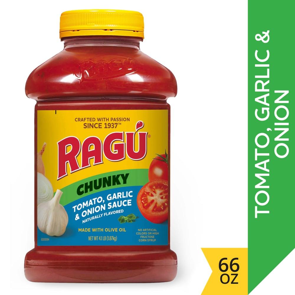 Ragu Chunky Tomato Garlic & Onion Sauce