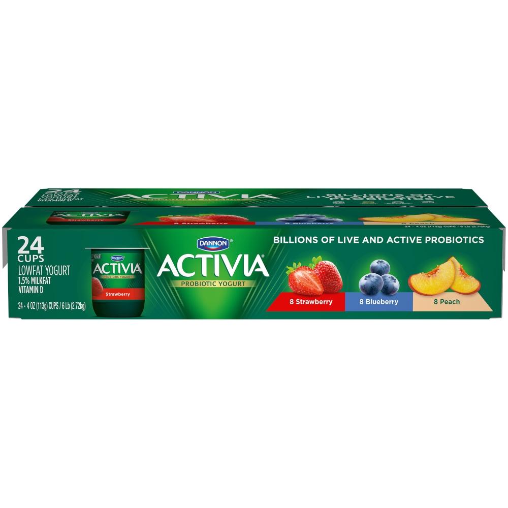 Food 4 Less - Dannon Activia Peach