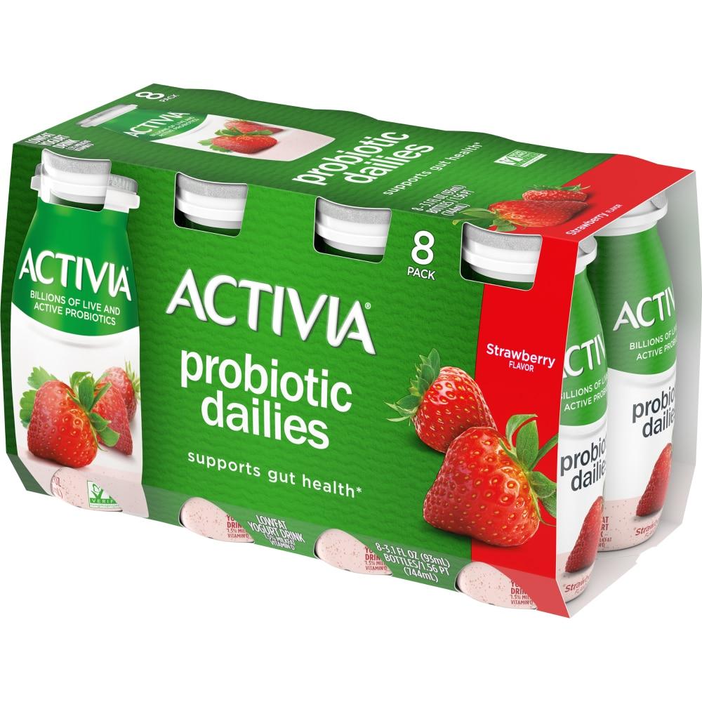 Kroger - Activia Strawberry Probiotic