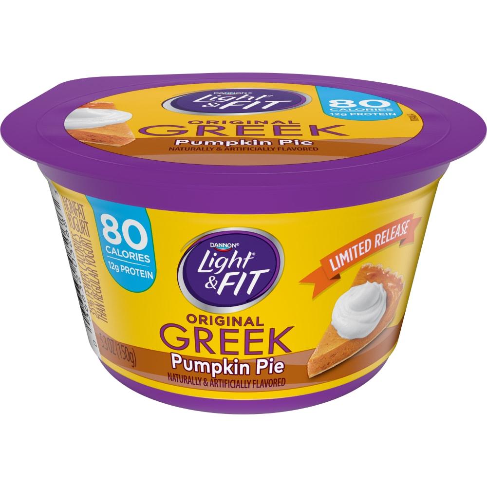Beautiful Dannon Light U0026 Fit Pumpkin Pie Greek Yogurt Perspective: Front Awesome Design