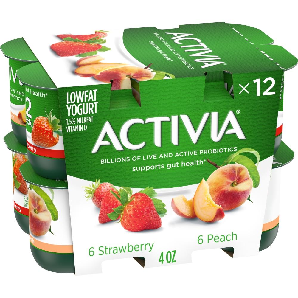 Food 4 Less - Dannon Activia Strawberry