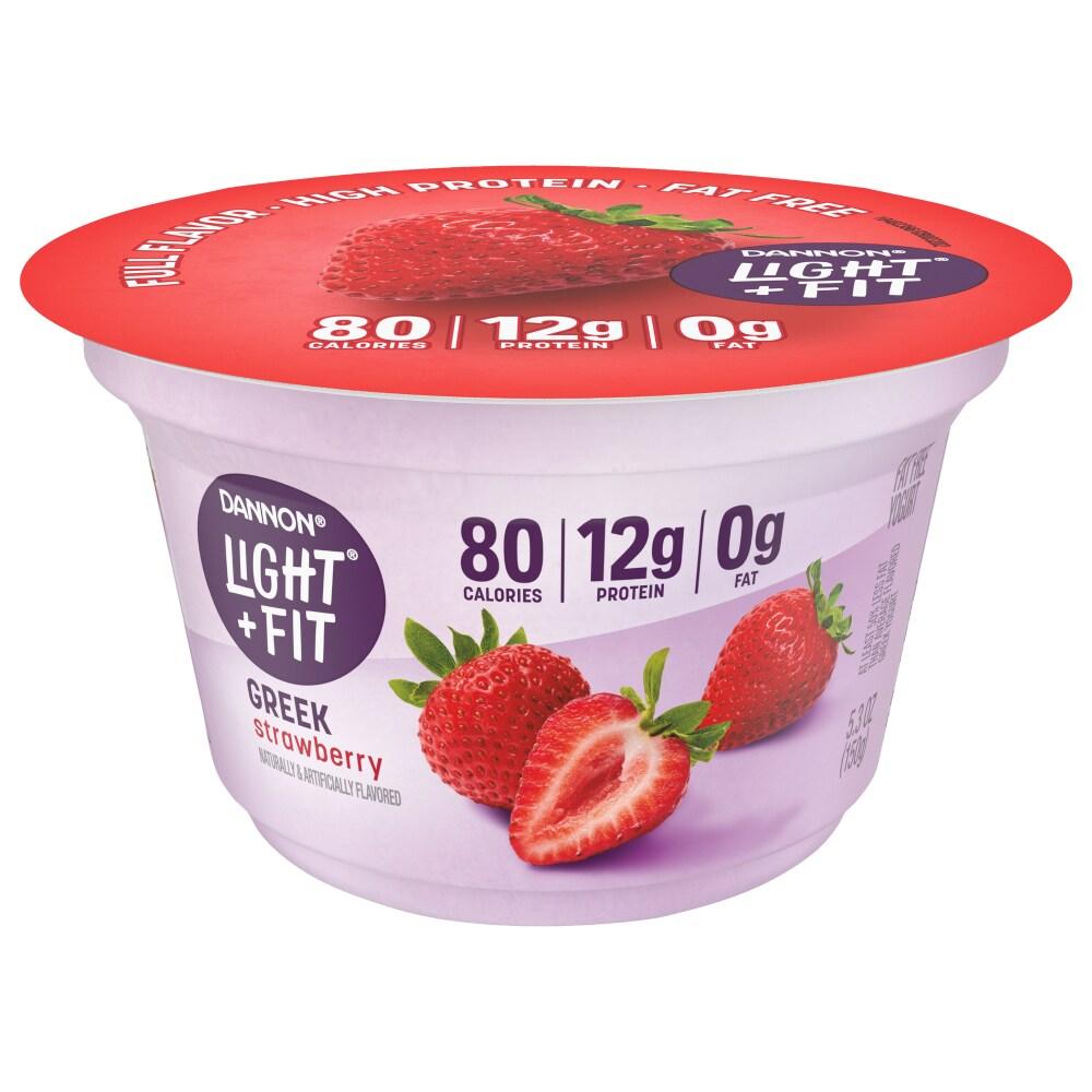Kroger - Dannon Light & Fit Strawberry Greek Yogurt, 5.3 oz