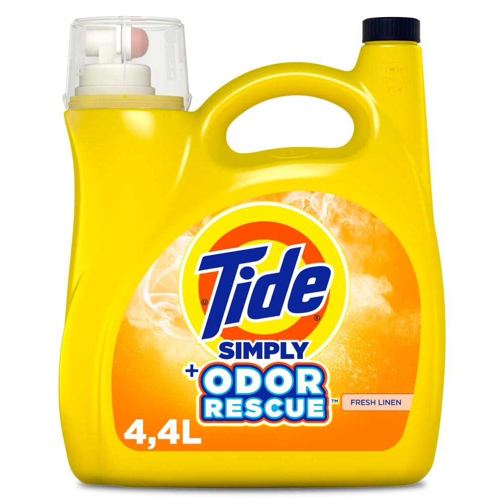 Baker S Tide Simply Odor Rescue Fresh Linen Liquid Laundry Detergent 150 Fl Oz