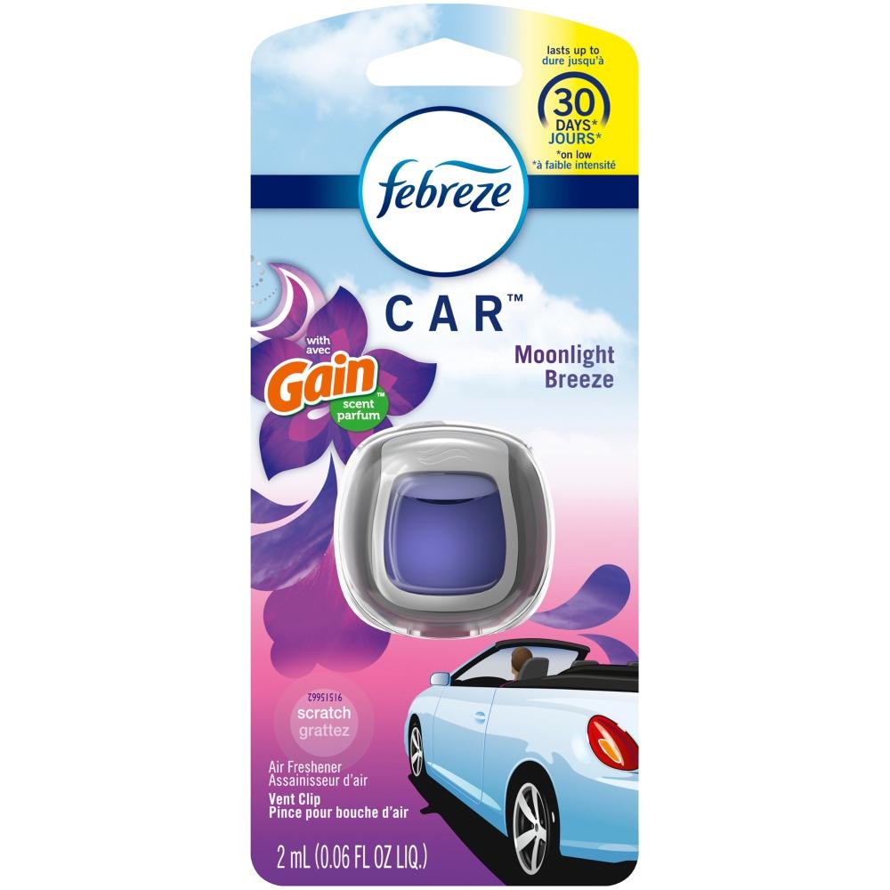 Fry S Food Stores Febreze Car Gain Moonlight Breeze Scent Vent Clip Air Freshener 1 Ct