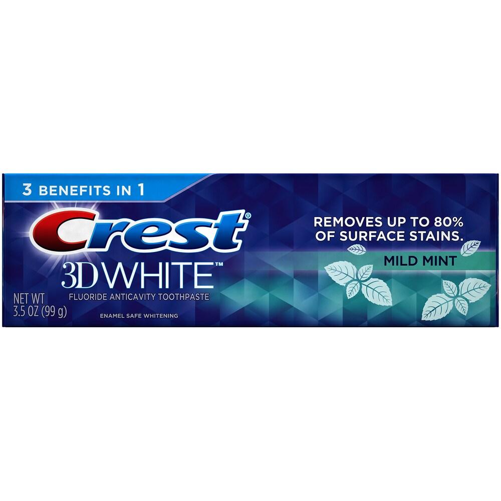 Mariano S Crest 3d White Mild Mint Whitening Toothpaste 3 5 Oz