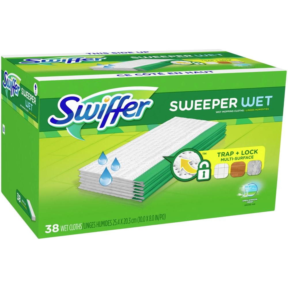 King Soopers Swiffer Sweeper Open Window Fresh Scented Wet