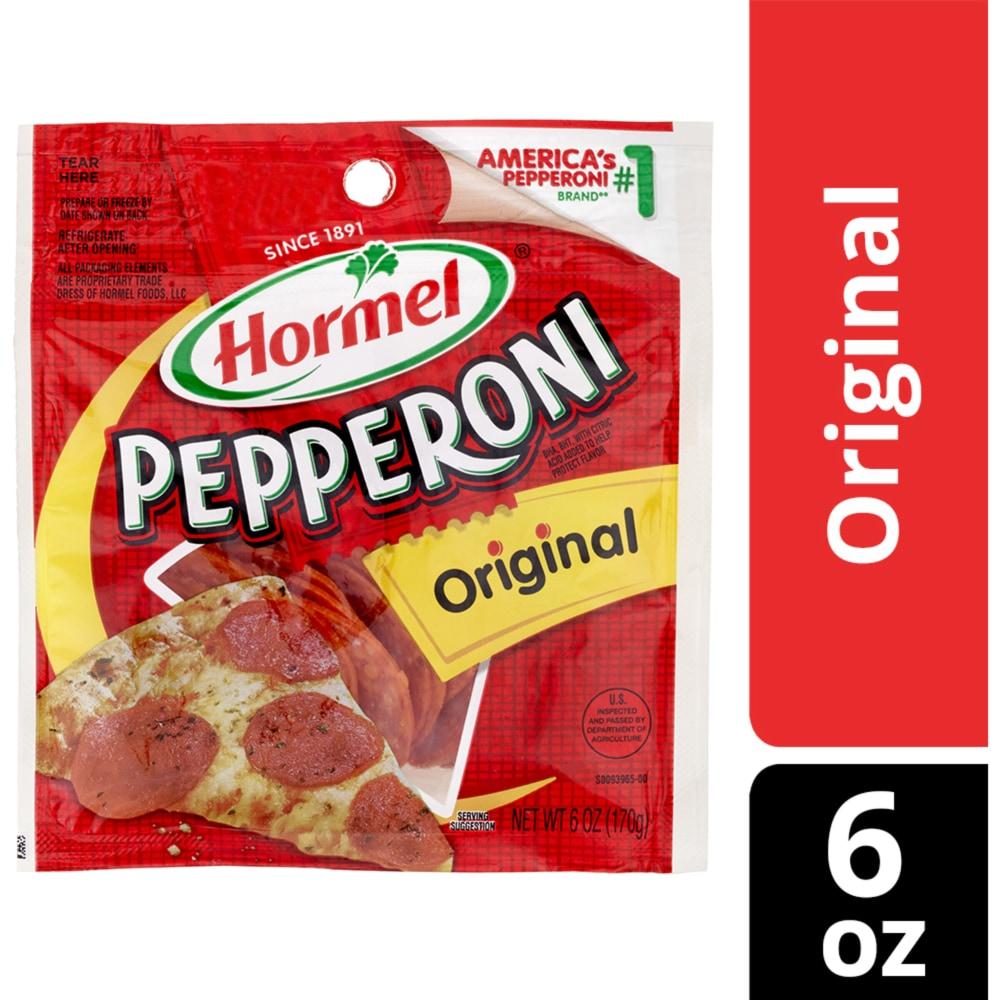 Kroger - Hormel Original Pepperoni, 6 oz