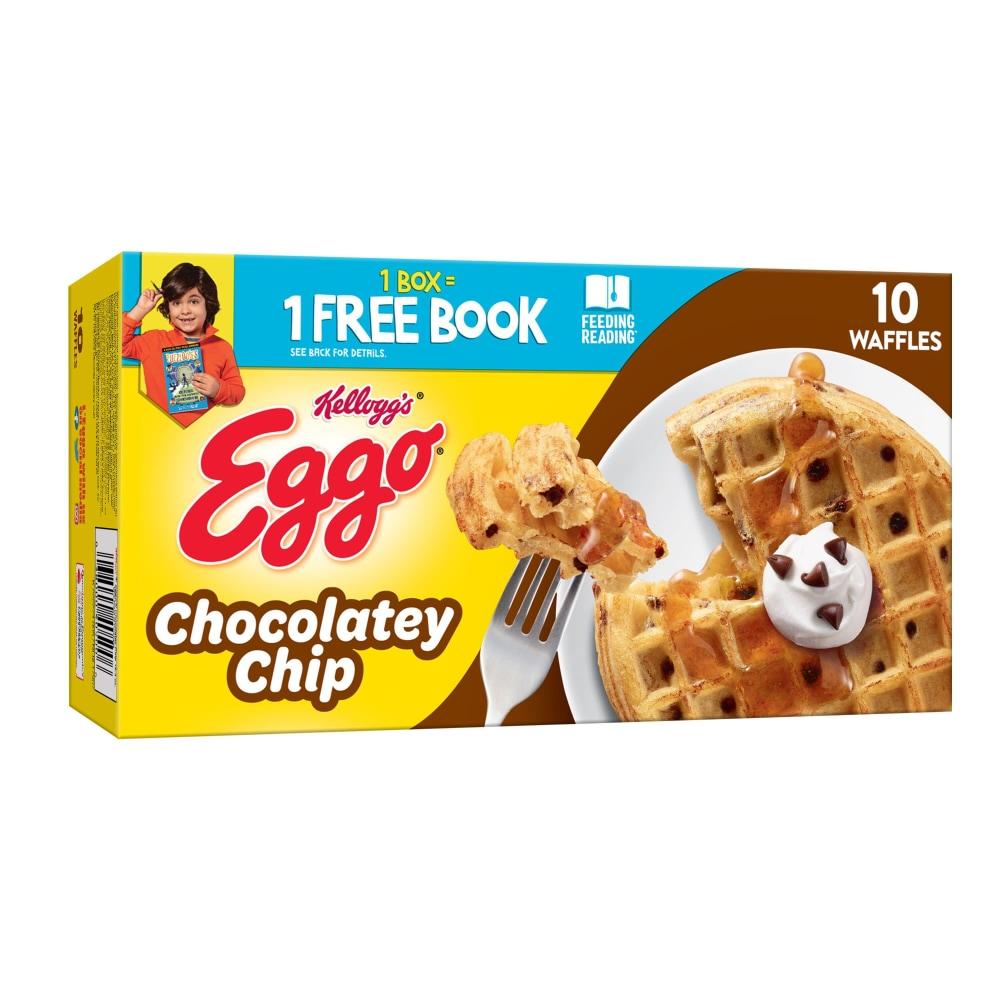 Kellogg's Eggo Chocolatey Chip Frozen