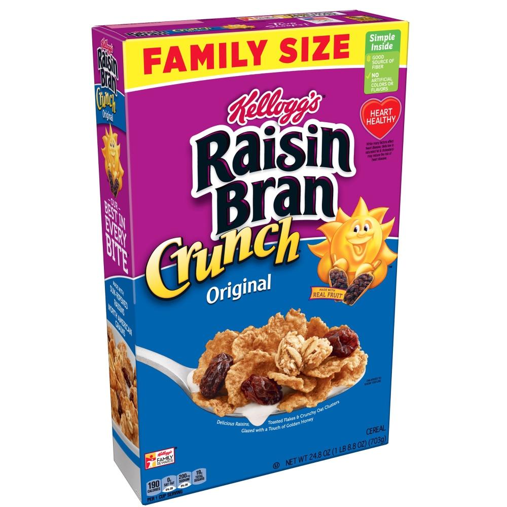 Kroger - Raisin Bran Crunch Cereal, 24.8 oz