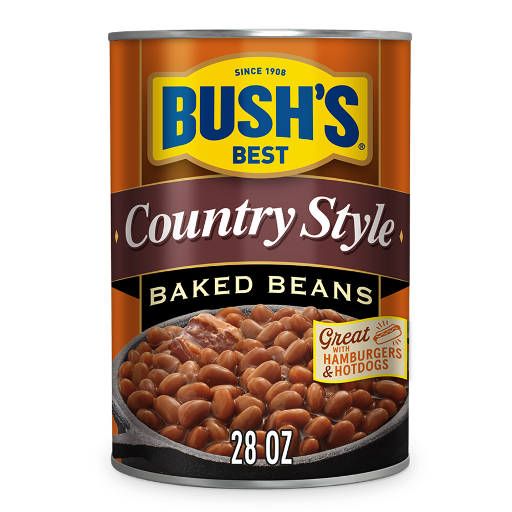 Qfc Bush S Best Country Style Baked Beans 28 Oz
