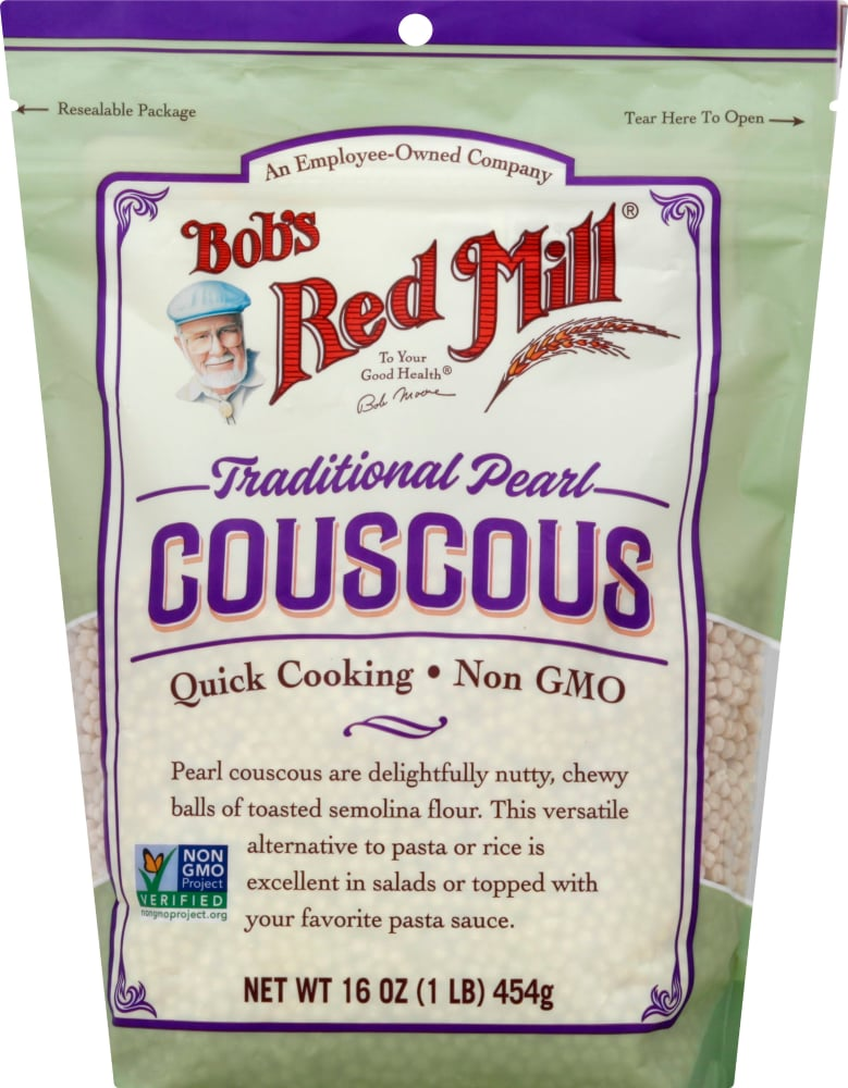 Bob S Red Mill Traditional Pearl Couscous 16 Oz Fred Meyer