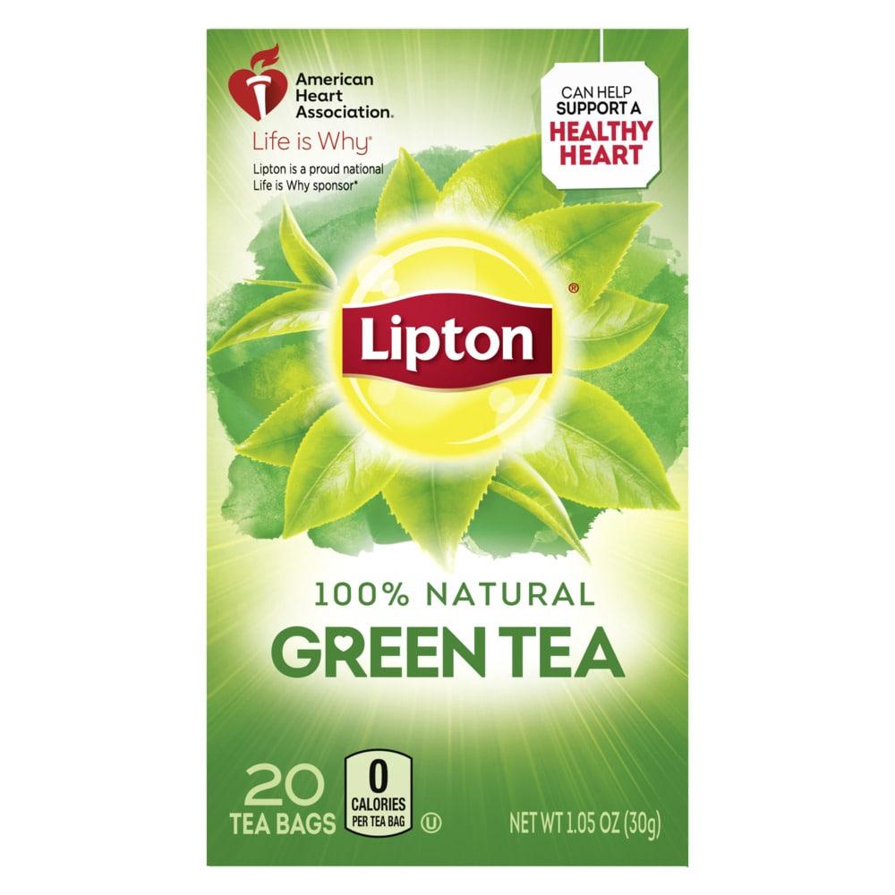 Lipton Natural Green Tea Bags